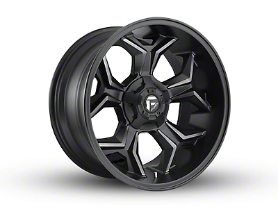Fuel Wheels Avenger Black Machined w/ Dark Tint 6-Lug Wheel - 20x10 (04-18 F-150)