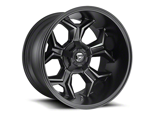Fuel Wheels Avenger Black Machined w/ Dark Tint 6-Lug Wheel - 20x12; -44mm Offset (15-19 F-150)