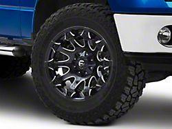 Fuel Wheels Battle Axe Gloss Black Milled 6-Lug Wheel; 20x10; -18mm Offset (09-14 F-150)