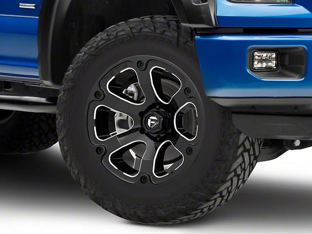 Fuel Wheels Beast Gloss Black Milled 6-Lug Wheel - 20x10; -18mm Offset (15-19 F-150)