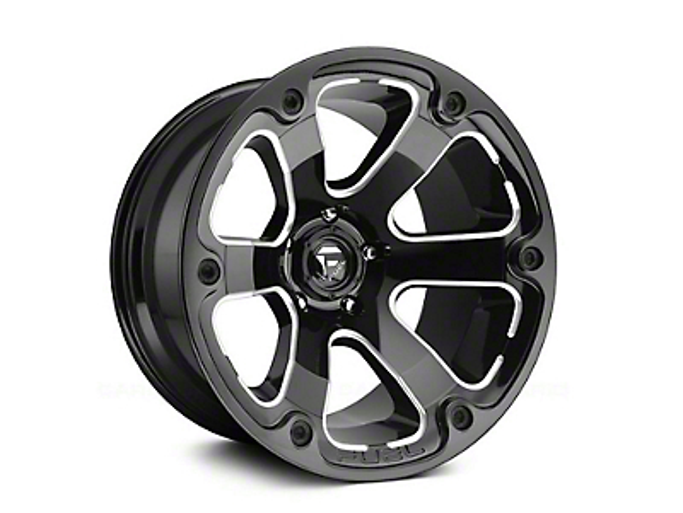 Fuel Wheels Beast Gloss Black Milled 6-Lug Wheel - 20x9 (04-19 F-150)