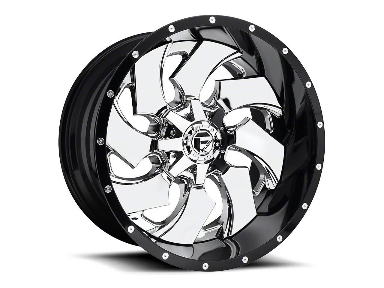 Fuel Wheels Cleaver Chrome 6-Lug Wheel - 20x10 (04-19 F-150)