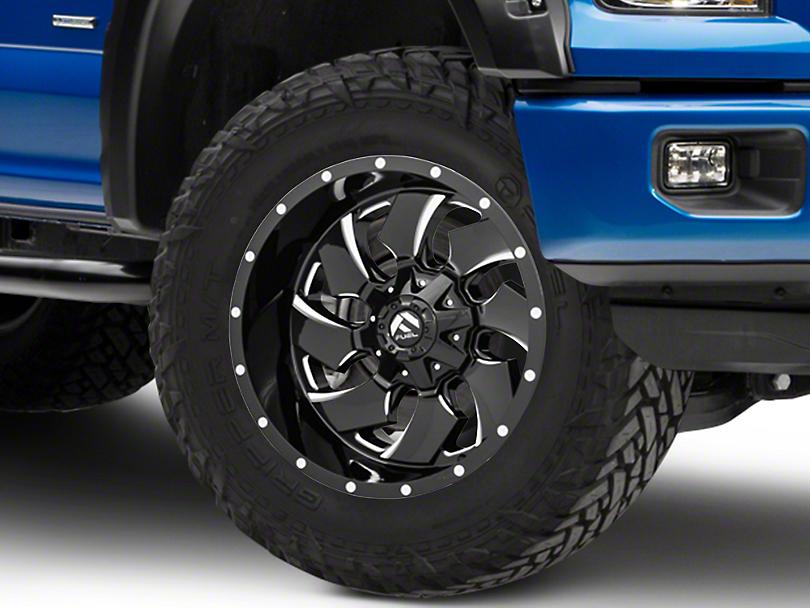 Fuel Wheels Cleaver Gloss Black Milled 6-Lug Wheel - 20x10; -18mm Offset (15-19 F-150)