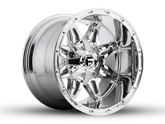 Fuel Wheels Hostage Chrome 6-Lug Wheel - 18x12 -44mm Offset (15-19 F-150)
