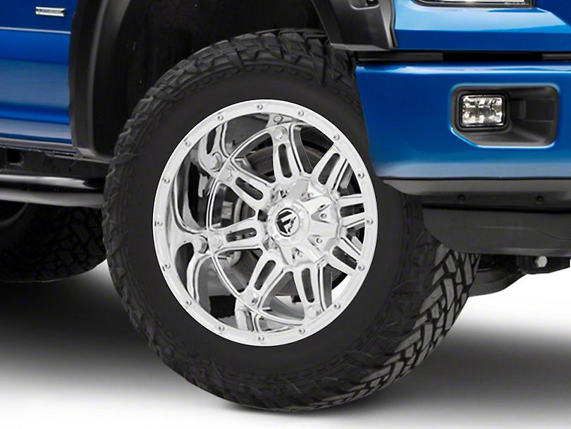 Fuel Wheels Hostage Chrome 6-Lug Wheel - 20x12; -44mm Offset (15-19 F-150)