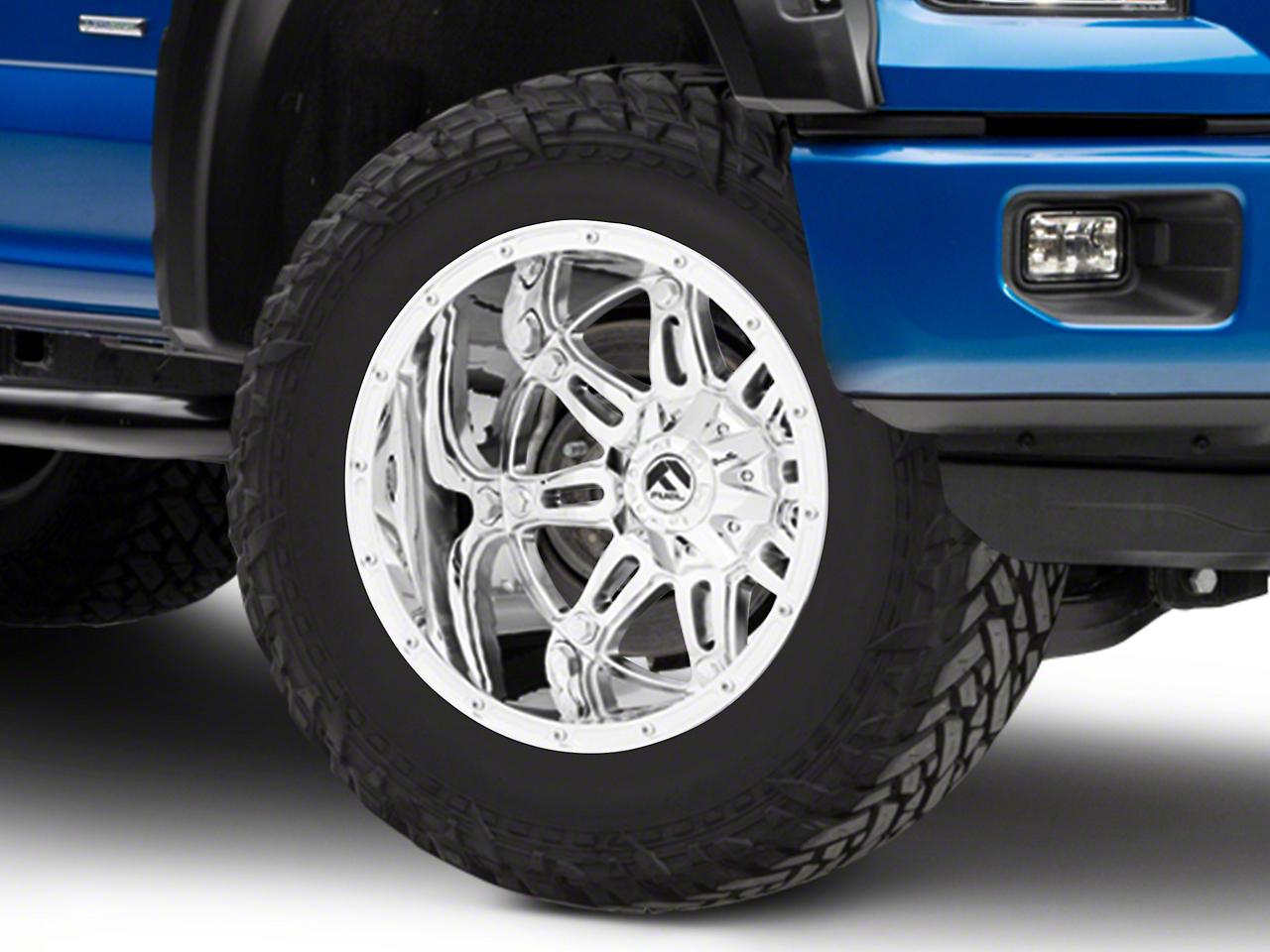 Fuel Wheels Hostage Chrome 6-Lug Wheel - 20x14 (04-18 F-150)