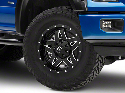 Fuel Wheels Full Blown Black Milled 6-Lug Wheel - 18x9 (04-19 F-150)