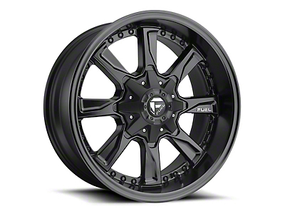 Fuel Wheels Hydro Matte Black 6-Lug Wheel - 18x9 (04-19 F-150)