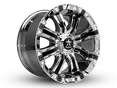 RBP 94R Chrome w/ Black Inserts 6-Lug Wheel - 18x9 (04-19 F-150)