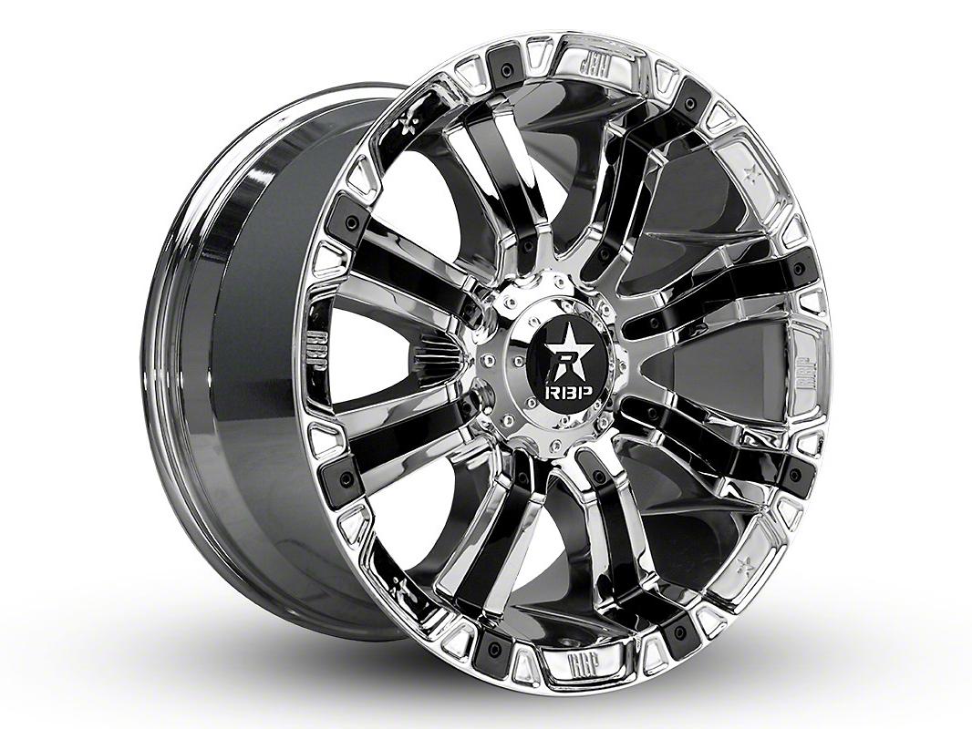 RBP 94R Chrome w/ Black Inserts 6-Lug Wheel - 18x9 (04-18 F-150)