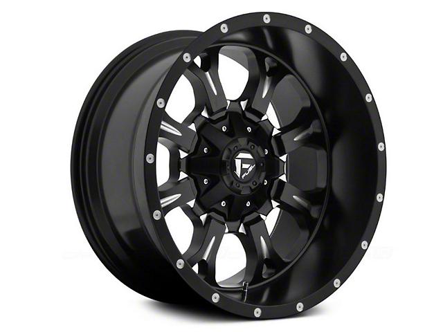 Fuel Wheels Krank Black Milled 6-Lug Wheel - 18x9 (15-19 F-150)
