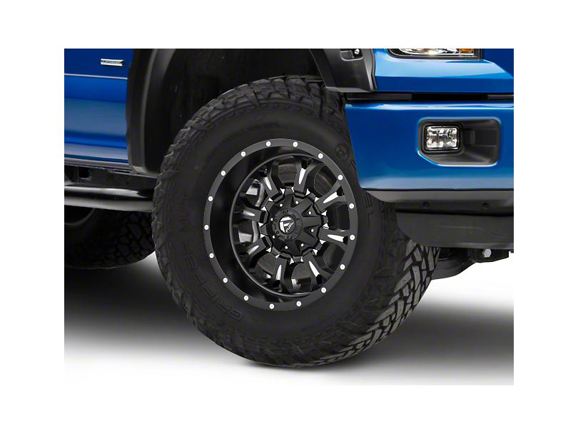 Fuel Wheels Krank Black Milled 6-Lug Wheel - 20x10 (15-19 F-150)