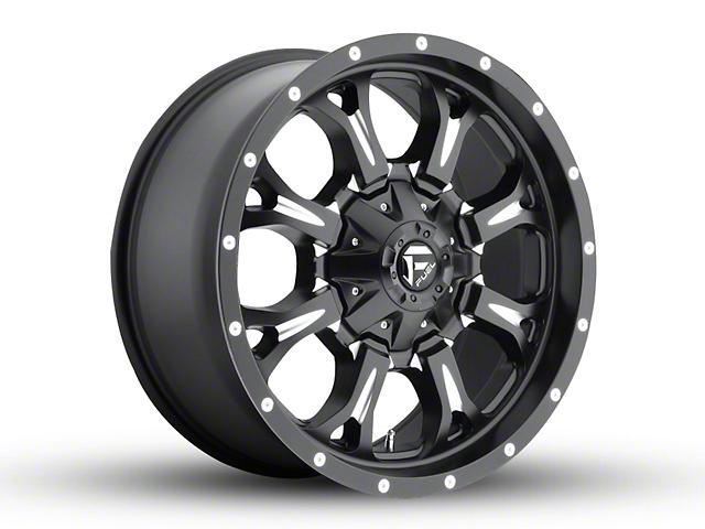 Fuel Wheels Krank Black Milled 6-Lug Wheel - 20x9 +14mm Offset (15-19 F-150)