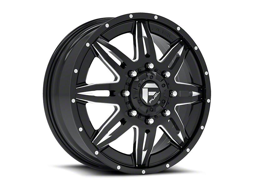 Fuel Wheels Lethal Black Milled 6-Lug Wheel - 22x12 (04-19 F-150)