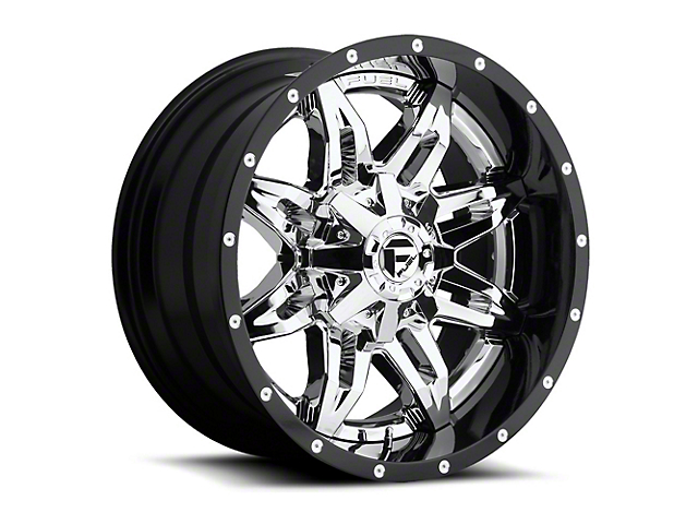 Fuel Wheels Lethal Chrome 6-Lug Wheel - 20x12 (04-19 F-150)