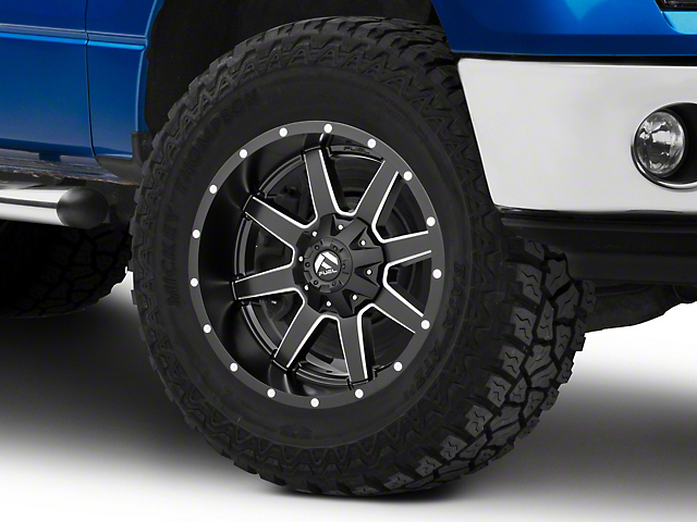 Fuel Wheels Maverick Matte Black Milled 6-Lug Wheel; 20x10; -24mm Offset (15-20 F-150)