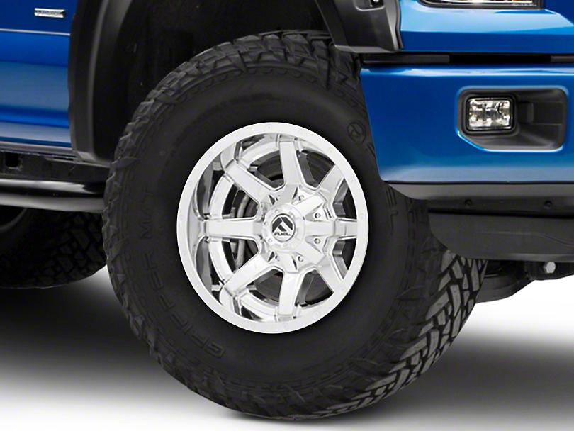 Fuel Wheels Maverick Chrome 6-Lug Wheel - 17x10 (04-19 F-150)