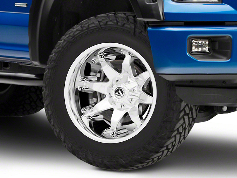 Fuel Wheels Octane Chrome 6-Lug Wheel - 20x12; -44mm Offset (15-19 F-150)