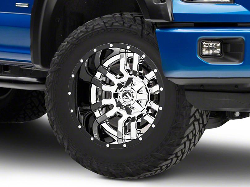 Fuel Wheels Pump Matte Black 6-Lug Wheel - 20x10; -24mm Offset (15-19 F-150)