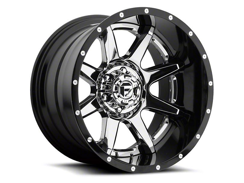 Fuel Wheels Rampage Chrome 6-Lug Wheel - 22x10 -11mm Offset (15-19 F-150)