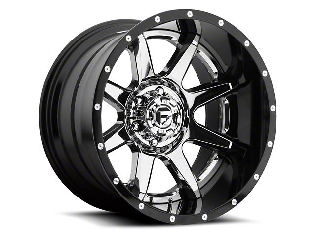 Fuel Wheels Rampage Chrome 6-Lug Wheel - 22x10; -11mm Offset (15-19 F-150)