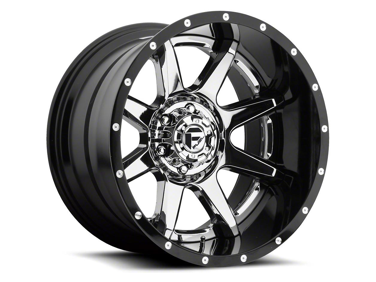 Fuel Wheels Rampage Chrome 6-Lug Wheel - 22x10 (04-18 F-150)