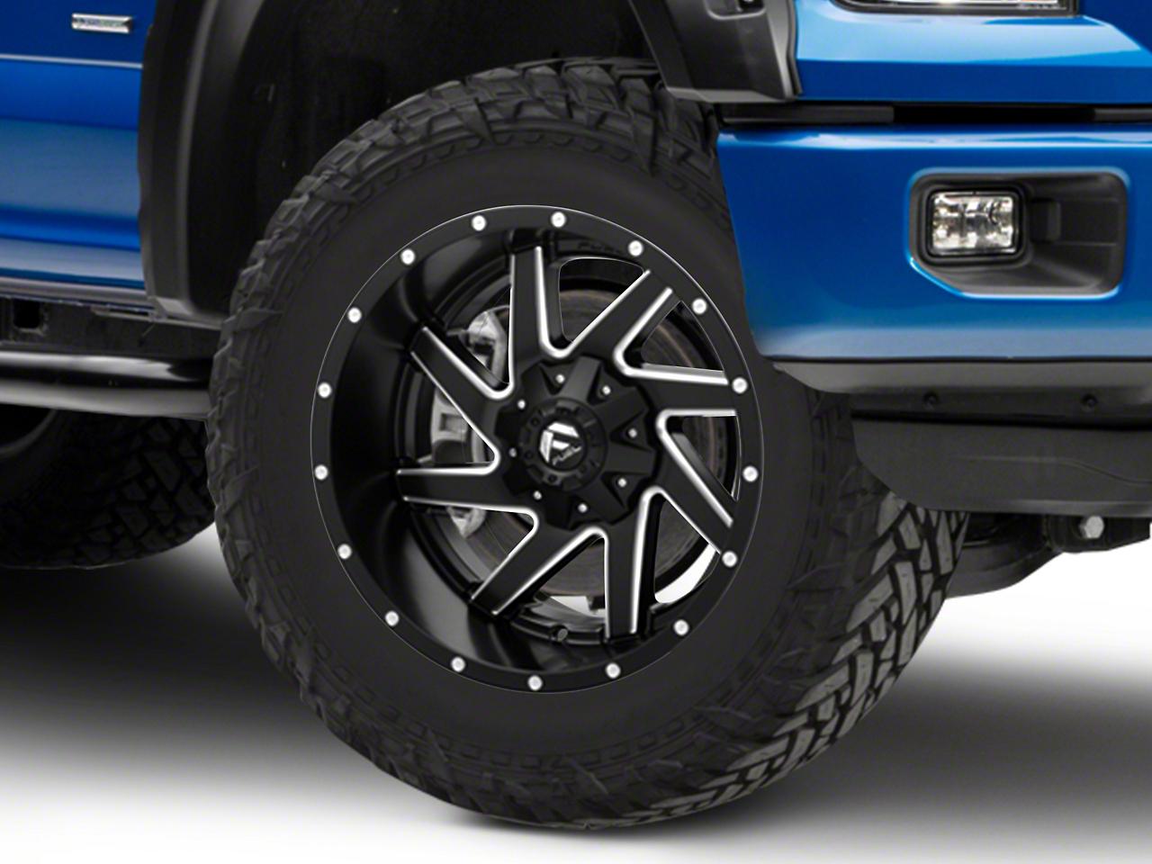 Fuel Wheels Renegade Matte Black Milled 6-Lug Wheel - 20x10 (04-19 F-150)