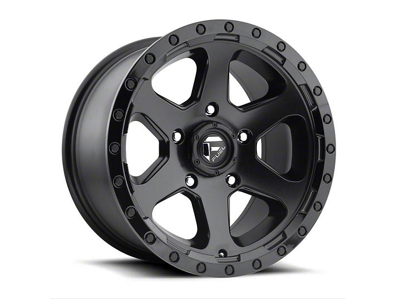 Fuel Wheels Ripper Gloss Black Milled 6-Lug Wheel - 18x9 (15-19 F-150)