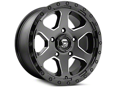 Fuel Wheels Ripper Gloss Black Milled 6-Lug Wheel - 20x10 (04-18 F-150)