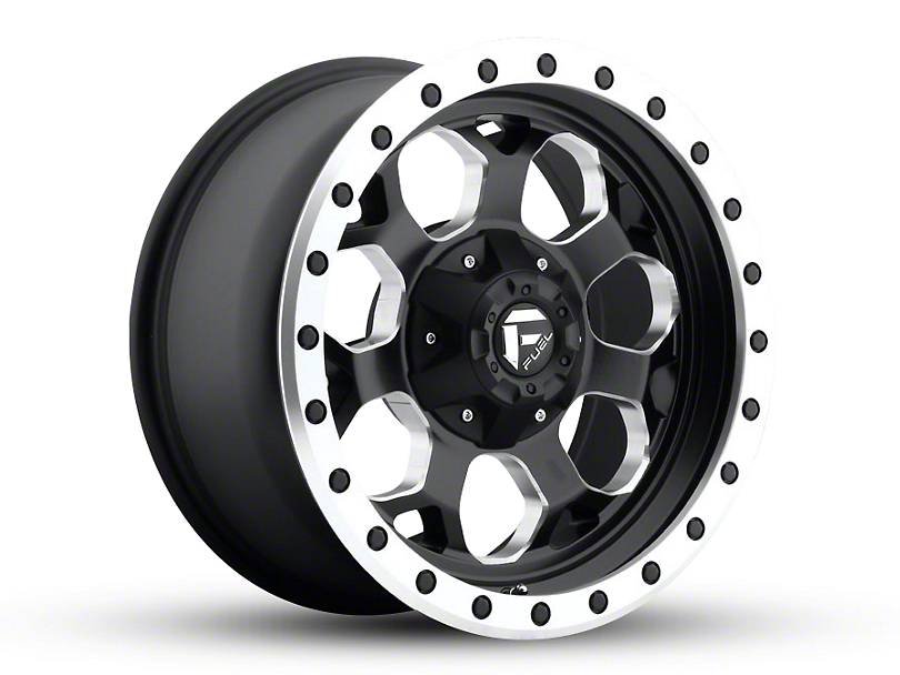 Fuel Wheels Savage Black Milled 6-Lug Wheel - 17x8.5 (04-19 F-150)