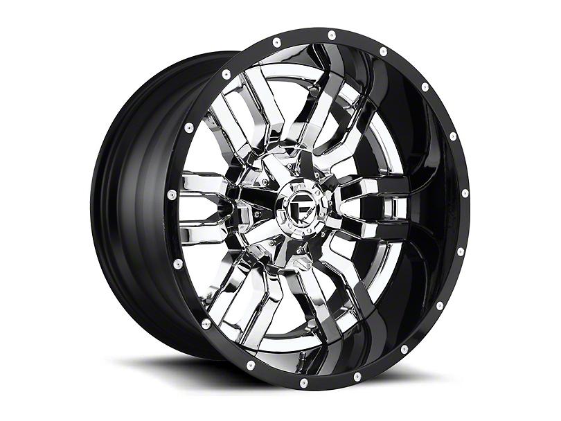 Fuel Wheels Sledge Chrome 6-Lug Wheel - 22x10; -13mm Offset (15-19 F-150)