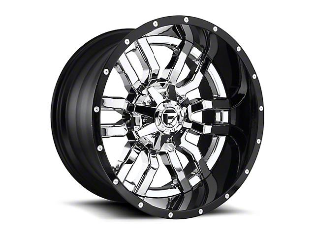 Fuel Wheels Sledge Chrome 6-Lug Wheel; 22x10; -13mm Offset (15-20 F-150)