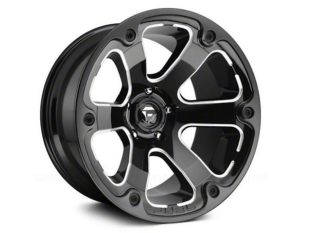 Fuel Wheels STRYKR Gloss Black Milled 6-Lug Wheel - 17x9 (04-19 F-150)