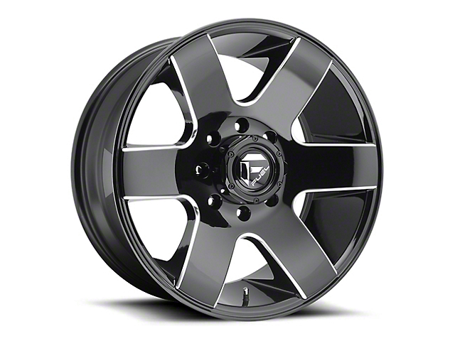 Fuel Wheels Tank Gloss Black Milled 6-Lug Wheel - 20x9 (04-19 F-150)