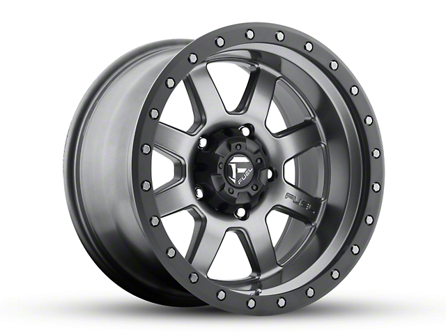 Fuel Wheels Trophy Gun Metal 6-Lug Wheel - 18x10; -12mm Offset (15-19 F-150)