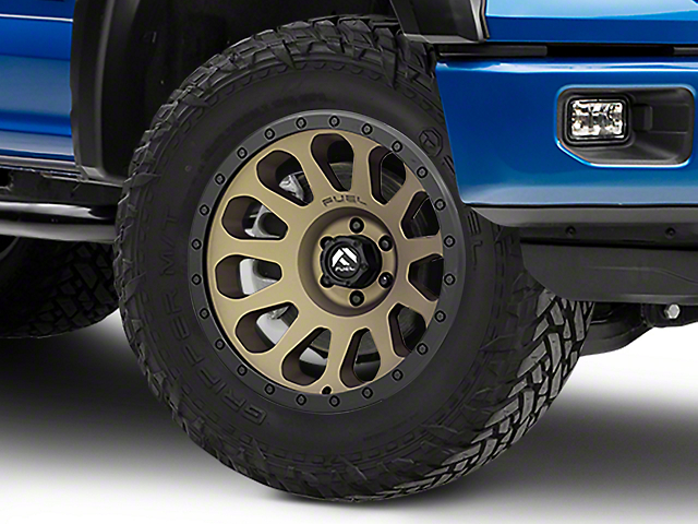 Fuel Wheels Vector Bronze 6-Lug Wheel - 20x10 -18mm Offset (04-19 F-150)