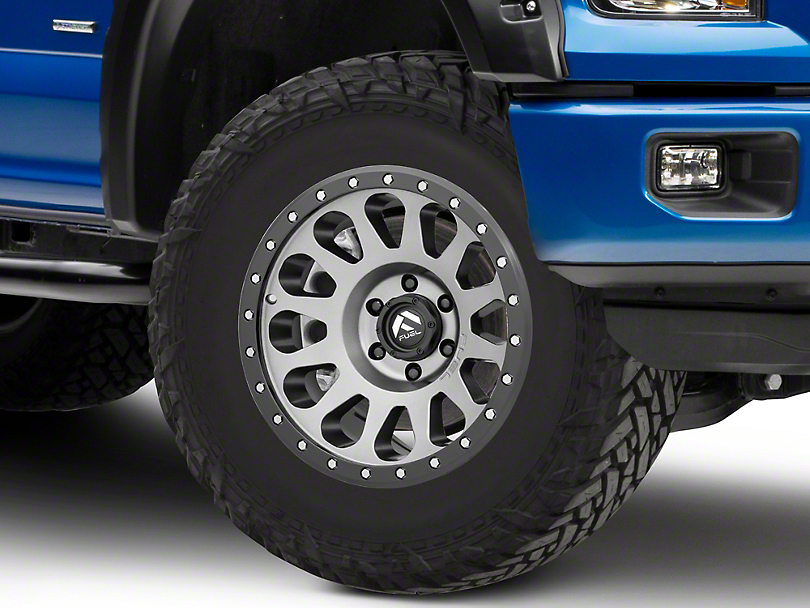 Fuel Truck Wheels >> Fuel Wheels F 150 Vector Gun Metal 6 Lug Wheel 18x9 1mm Offset