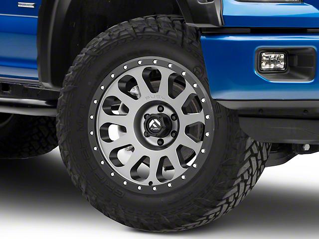 Fuel Wheels Vector Gun Metal 6-Lug Wheel - 20x9; 1mm Offset (15-20 F-150)