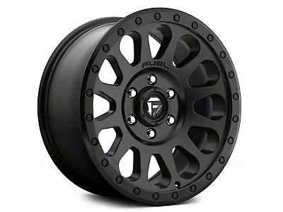 Fuel Wheels Vector Matte Black 6-Lug Wheel - 18x9 (04-18 F-150)