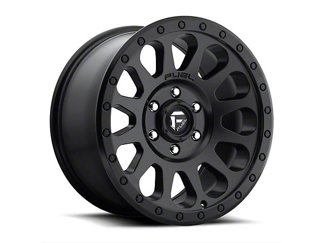 Fuel Wheels Vector Matte Black 6-Lug Wheel; 20x9; 20mm Offset (15-20 F-150)