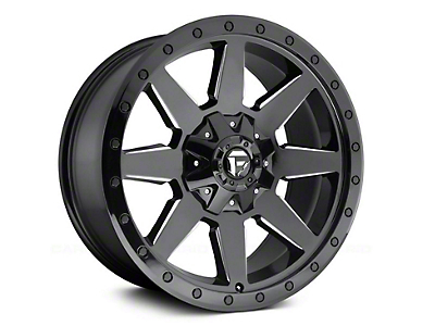 Fuel Wheels Wildcat Gloss Black Milled 6-Lug Wheel - 17x9 (04-18 F-150)