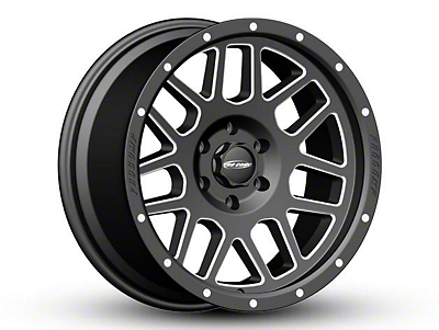 Pro Comp Vertigo Satin Black Milled 6-Lug Wheel - 20x9 (04-19 F-150)
