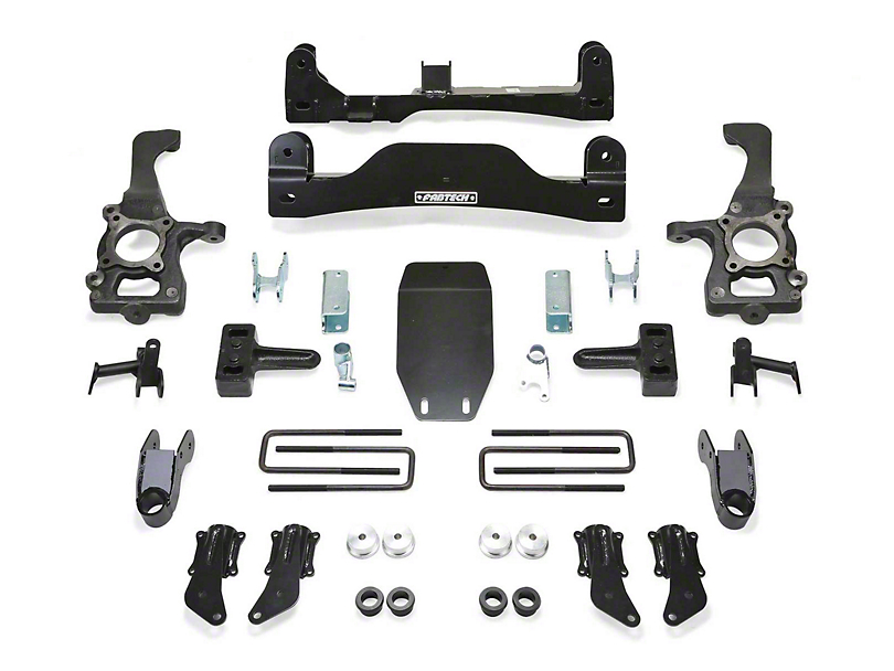 Fabtech 4 in. Basic Lift System (10-14 F-150 Raptor)