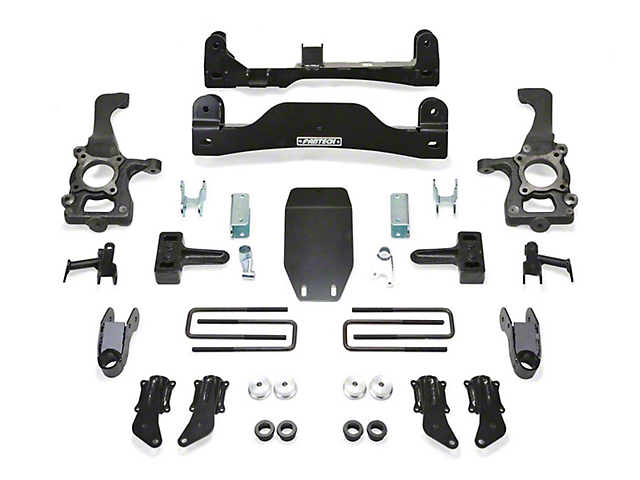 Fabtech 4-Inch Basic Lift Kit (10-14 F-150 Raptor)