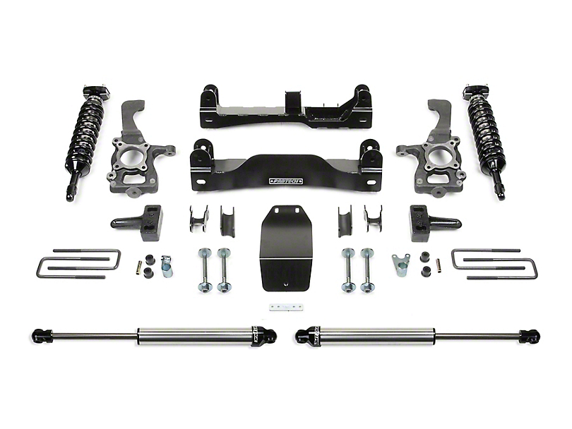 Fabtech 4-Inch Performance Lift Kit with Dirt Logic Coil-Overs and Shocks (09-14 4WD F-150 SuperCab, SuperCrew, Excluding Raptor)