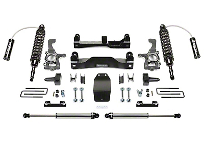 Fabtech 4 in. Performance Lift Kit w/ Dirt Logic Coil-Overs & Shocks (09-14 4WD F-150 SuperCab, SuperCrew, Excluding Raptor)