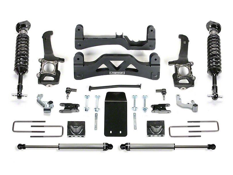 Fabtech 6 in. Performance Lift System w/ Dirt Logic Coilovers & Shocks (2014 4WD F-150 SuperCrew, Excluding Raptor)
