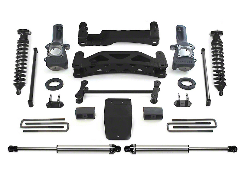Fabtech 6 in. Performance Lift System w/ Dirt Logic SS 2.5 Coilovers & Rear Dirt Logic SS Shocks (04-08 4WD F-150)