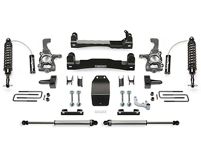 Fabtech 4 in. Performance Lift System w/ Dirt Logic Coilovers (15-19 4WD F-150 SuperCab, SuperCrew, Excluding Raptor)