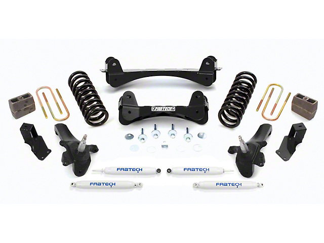 Fabtech 7.5 in. Performance Lift System w/ Shocks (97-03 2WD F-150 SuperCab, SuperCrew)